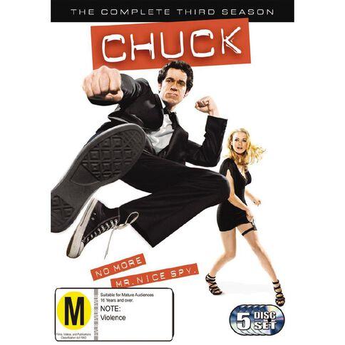 Chuck Season 3 DVD 5Disc