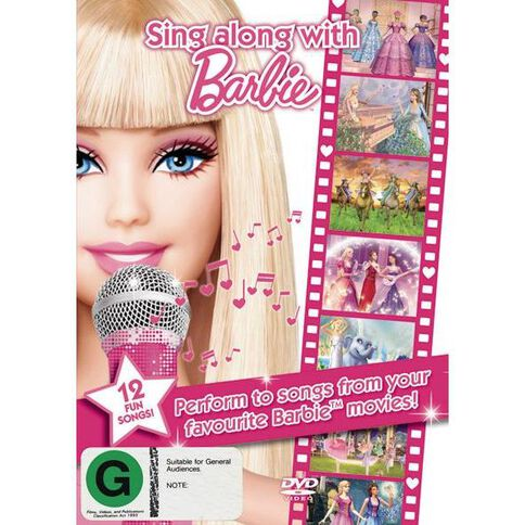 Sing Along with Barbie DVD 1Disc