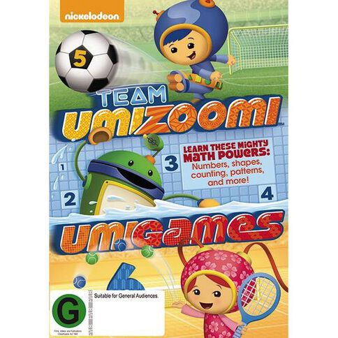 Team Umizoomi: Umigames DVD 1Disc
