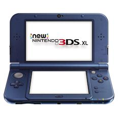 3DS Console XL New Metalic Blue