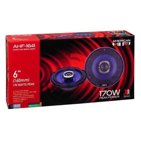 American Hi-Fi 6in Speakers 2 Way Coaxial 170 Watt