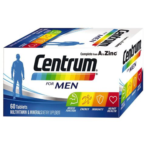 Centrum for Men 60s