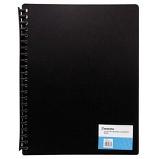 Deskwise Clearfile Refillable Black 40 Page