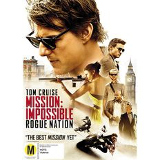 Mission Impossible Rogue Nation DVD 1Disc