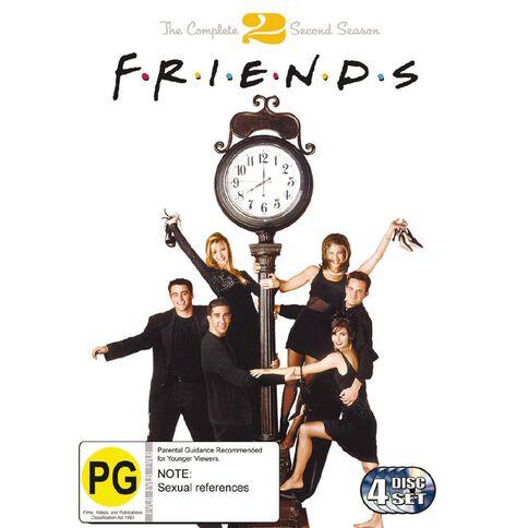 Friends Season 2 DVD 4Disc