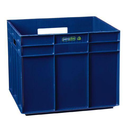 Perroplas One Plastic Storage Cube Blue