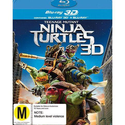 Teenage Mutant Ninja Turtles 3D Blu-ray 1Disc