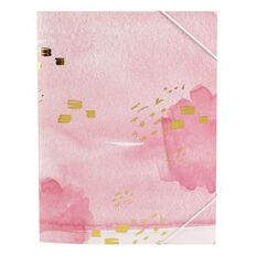 Stylo Dream Folder Sleeve with Elastic Band with Gold Foil A4