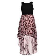 A'nD Chiffon Drop Hem Dress