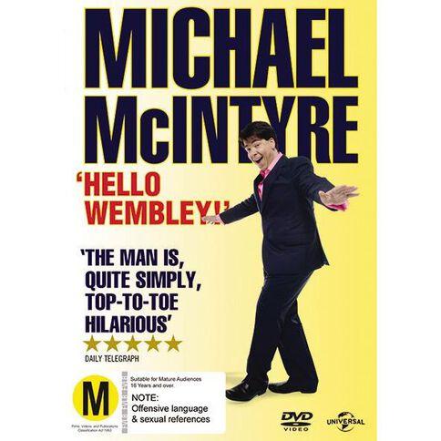 Michael Mcintyre Hello Wembley DVD 1Disc