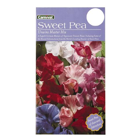 Carnival Seeds Master Sweetpea Flower