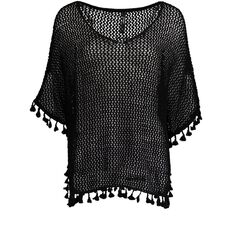 Garage Boxy Tassel Edge Jumper