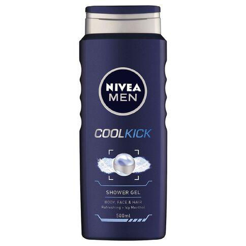 Nivea For Men Shower Gel Cool Kick 500ml