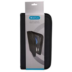 Tech.Inc CD Wallet 72 Sleeve Black
