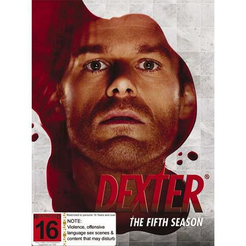 Dexter Season 5 DVD 4Disc