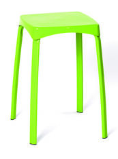 Solano Stacking Stool Green