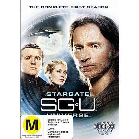 Stargate Universe Season 1 DVD 6Disc