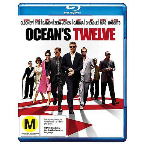 Oceans 12 Blu-ray 1Disc