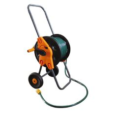 Reel Cart with 30m Hose Set with Fittings and 1.5m Leading Hose
