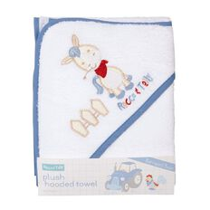 Rocco And Tolly Barnyard Buds Plush Hooded Towel