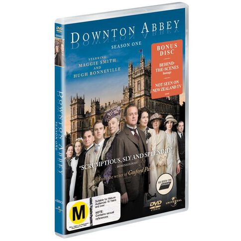 Downton Abbey Season 1 DVD 4Disc