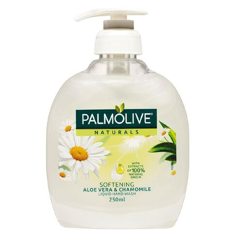 Palmolive Soft Wash Hand Wash Aloe Vera Pump 250ml