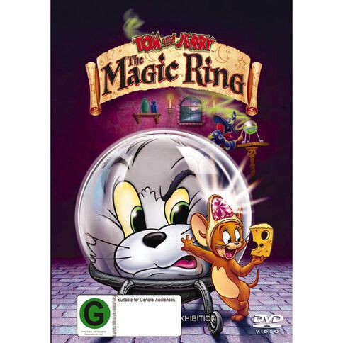 Tom & Jerry The Magic ring DVD 1Disc