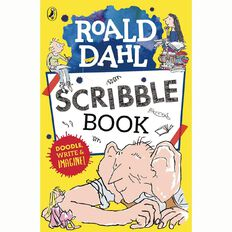 Roald Dahl Scribble Book by Puffin