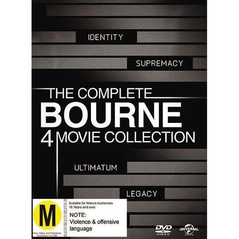 The Bourne Quadrilogy 4 DVD 4Disc