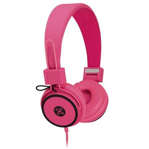 Moki Hyper Headphones Pink