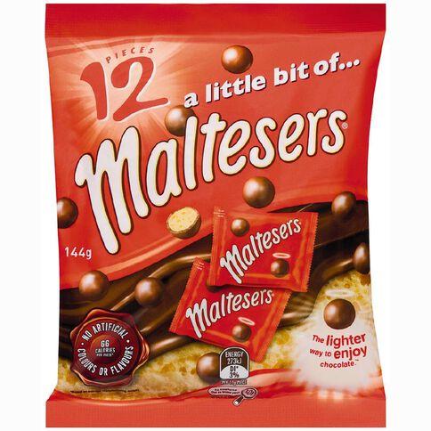 Mars Maltesers Funsize 144g 12 Pack