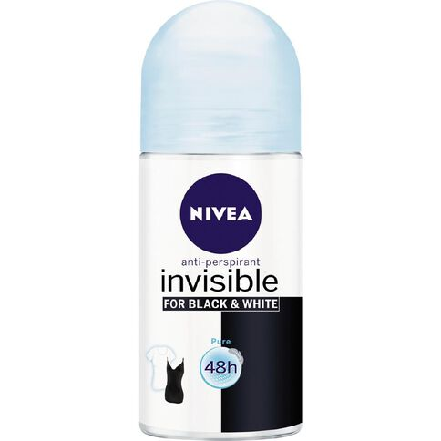 Nivea Roll On Deodorant Black & White Pure 50ml