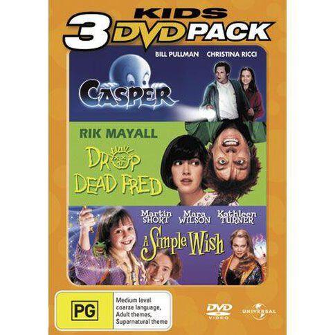 Casper/Drop Dead Fred/A Simple Wish DVD 1Disc