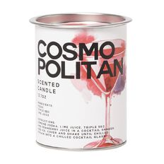 Tin Candle Cosmo 360g 9cm x 11cm