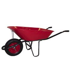 Westminster Wheelbarrow Red 75L