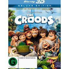 The Croods Blu-ray + 3D Blu-ray + DVD 3Disc