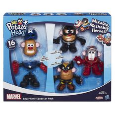 Playskool Mr Potato Head Super Hero Collector 4 Pack
