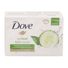 Dove Beauty Bar Fresh Touch 100g 4 Pack