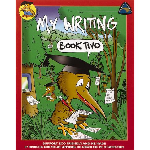Clever Kiwi My Writing Book 2