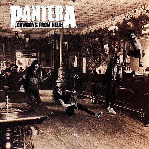 Pantera Cowboys From Hell CD by Pantera 1Disc