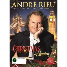 Andre Rieu Christmas In London DVD 1Disc