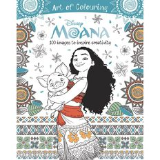 Disney Moana Art of Colouring