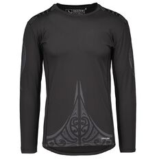 Active Intent Men's Long Sleeve Printed Compression Tee