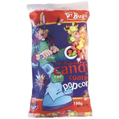 Dr Bugs Candy Coated Popcorn 150g
