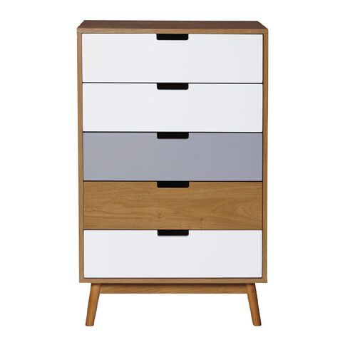 Solano Boden Cabinet 5 Drawer