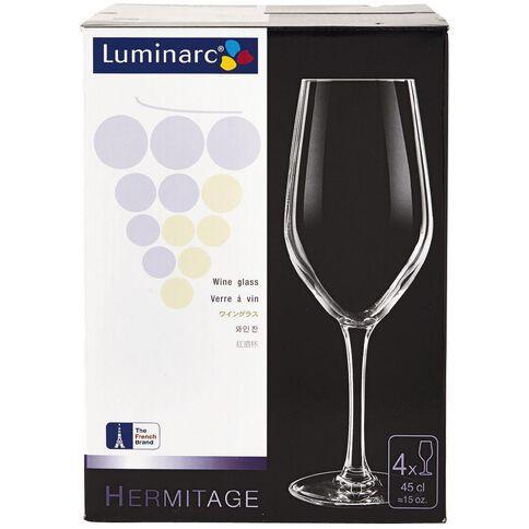 Luminarc Hermitage Pinot Glasses 450ml 4 Pack