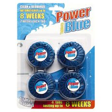 Maxcare Toilet Blue Block 4 Pack