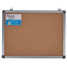 Deskwise Aluminium Cork Board 370mm x 490mm