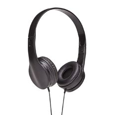 Necessities Brand Headphones Black