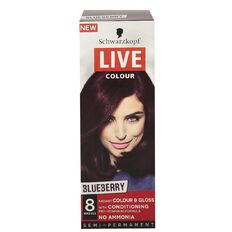 Schwarzkopf LIVE Colour Blueberry